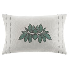 Lotus Cotton Decorative Pillow