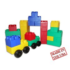 <strong>Serec Entertainment</strong> Jumbo Blocks 40 Piece Big City Playset