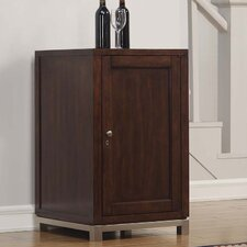 Wesleyan 18 Bottle Right Wine Cabinet