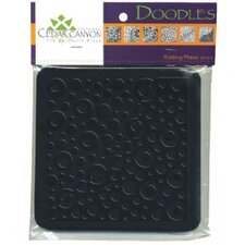 Doodles Rubbing Plate Set (Set of 6)
