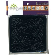 Leaves Rubbing Plate Set (Set of 6)