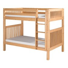 Bunk Bed with Mission Headboard