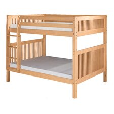 <strong>Camaflexi</strong> Full Over Full Bunk Bed with Mission Headboard