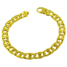 <strong>Fremada Jewelry</strong> Men's Fancy Mariner Link Bracelet