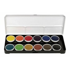Transparent Watercolor Paint (Set of 12)