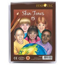 Skin Tones Pencil (Set of 15)