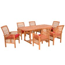 <strong>Home Loft Concept</strong> 7 Piece Dining Set