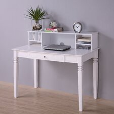<strong>Home Loft Concept</strong> Elegant Writing Desk with Hutch