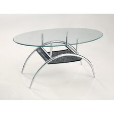Black Mesh Coffee Table