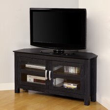 "<strong>Home Loft Concept</strong> 44"" Wood Corner TV Stand"