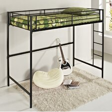 <strong>Home Loft Concept</strong> Metal Twin over Loft Bunk Bed