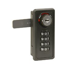 Resettable Combination Lock for Designer Wood Locker