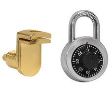 Combination Padlock with Hasp
