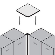 Corner Flat Top Filler