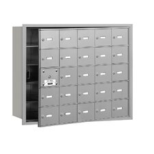 4B+ 25 Door Front Loading Horizontal Mailbox for Private Access