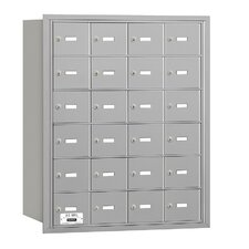 4B+ 24 Door Rear Loading Horizontal Mailbox for USPS Access