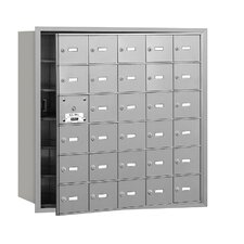 4B+ 30 Door Front Loading Horizontal Mailbox for Private Access