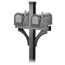 <strong>Salsbury Industries</strong> Heavy Duty Eagle Rural Mailbox Set