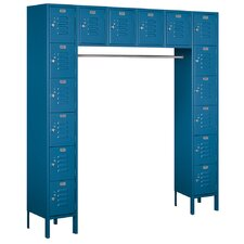 6 Tier Bridge Standard Box Locker