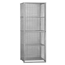 Unassembled Security Cage Storage Locker