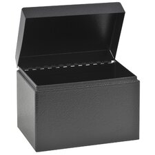 Hinged Cover Card File