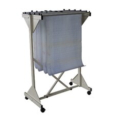 Mobile Drop Lift Filing Cart
