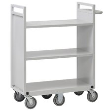 "42"" 6 Wheel Flat Shelf Cart"
