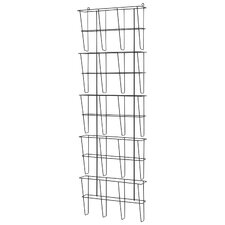 Wire Ware 5 Pocket Letter Size Literature Rack