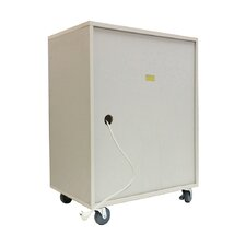 "Economy 34.19"" Tablet Security Cart"