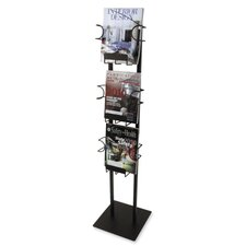 3 Pocket Magazine Display Rack
