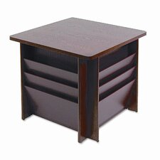 "Buddy Products Reception 23.25"" W Square Gathering Table"