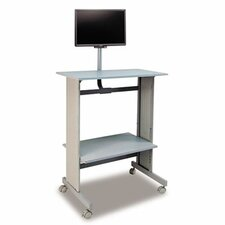"""29""""W x 20""""D Stand-Up Workstation"""