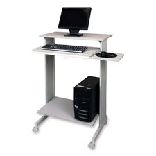 "<strong>Buddy Products</strong> Stand-Up Workstation, 29-1/2""x19-5/8""x44-1/4"", GY"