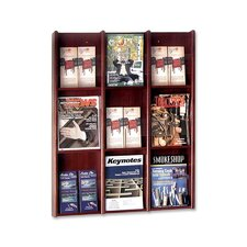 9 Pocket Literature Rack