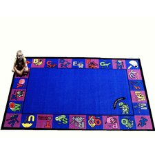 <strong>Kids World Rugs</strong> Alpha Charlie Kids Rug