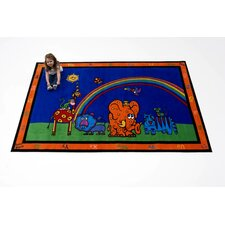 Funny Friends Kids Rug
