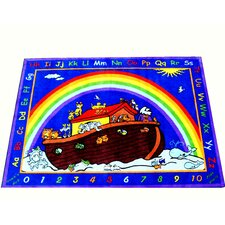 Animals in the Ark Kids Rug
