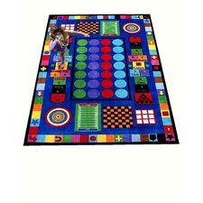 <strong>Kids World Rugs</strong> Game Time Kids Rug