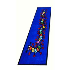 Caterpillar Blue Kids Rug