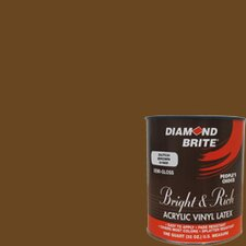 Bright and Rich Dutch Brown Latex Paint