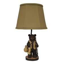<strong>AHS Lighting</strong> Fishing Bear Table Lamp