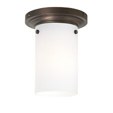 Clark 1 Light CFL Flush Mount