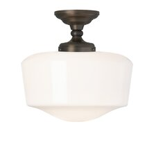 Tavern 1 Light Semi Flush Mount