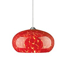 Meteor Frit 1 Light Two-Circuit Monorail Pendant