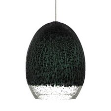 <strong>Tech Lighting</strong> Silver Glaze 1 Light Monopoint Pendant