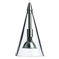 Cone 1 Light Monorail Pendant