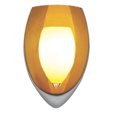 1 Light Wall Sconce with Murano Glass
