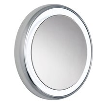 Tigris Round Recessed Illuminated Mirror