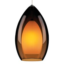 Fire 1 Light Monorail Pendant