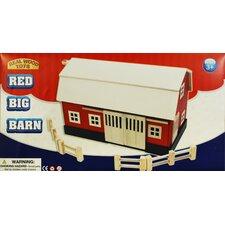 Big Red Wood Barn
